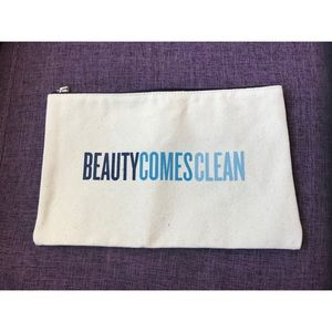 Beauty Counter cosmetic clutch bag